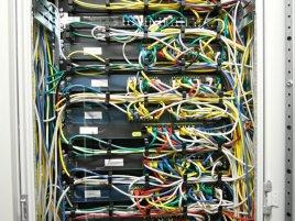 Master Internet - kabeláž v racku