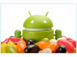 Androidík Jelly Bean
