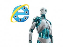 ESET with IE