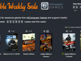 Humble Weekly Sale: bitComposer Games