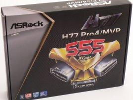 Krabice od ASRock H77 Pro4/MVP