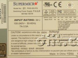Supermicro PWS-502-PQ štítek