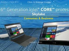 Intel 6 Th Generation Skylake Processors
