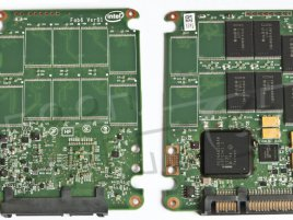 Intel SSD 320 Series 40GB - PCB