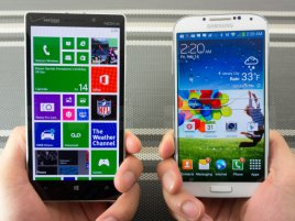 Nokia Lumia Icon Vs Samsung Galaxy S 4 011
