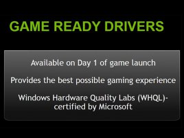 Nvidia Game Ready Drivers 01