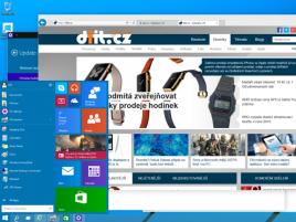 W 10 Preview Desktop Start