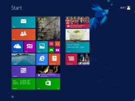 Windows 8.1 - obrazovka Start