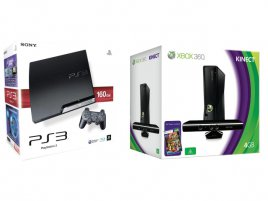 Xbox 360 Playstation 3 Box