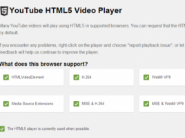 Youtube Html 5 Default