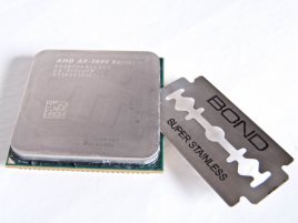Žiletka v procesoru AMD A8-3870K